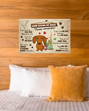 Dachshund Lover Poster No3 24x16 Poster poster-landscape-24x16-lifestyle-27