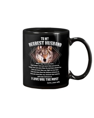 Wolf husband I Love You more