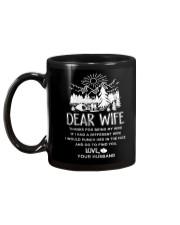Camping Dear Wife Mug back