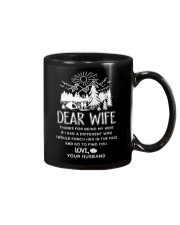 Camping Dear Wife Mug tile
