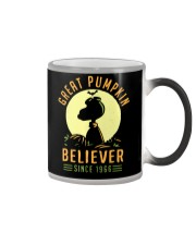 Great 1966 Pumpkin Halloween believer Color Changing Mug thumbnail