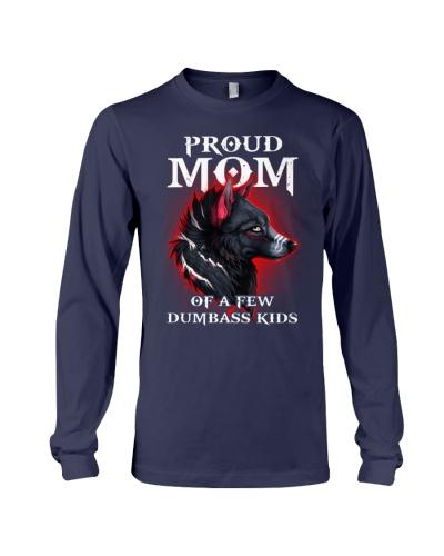 Mom Of Dumbass Kids Wolf