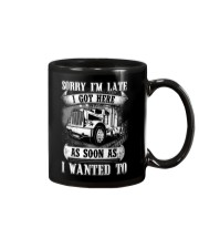 Trucker Sorry I'm late Mug thumbnail