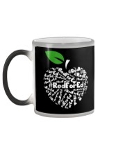 Teacher for Ed Teacher Protest Color Changing Mug color-changing-left