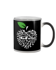 Teacher for Ed Teacher Protest Color Changing Mug tile
