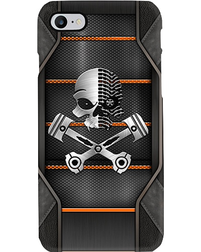 MECHANIC SKULL PHONECASE