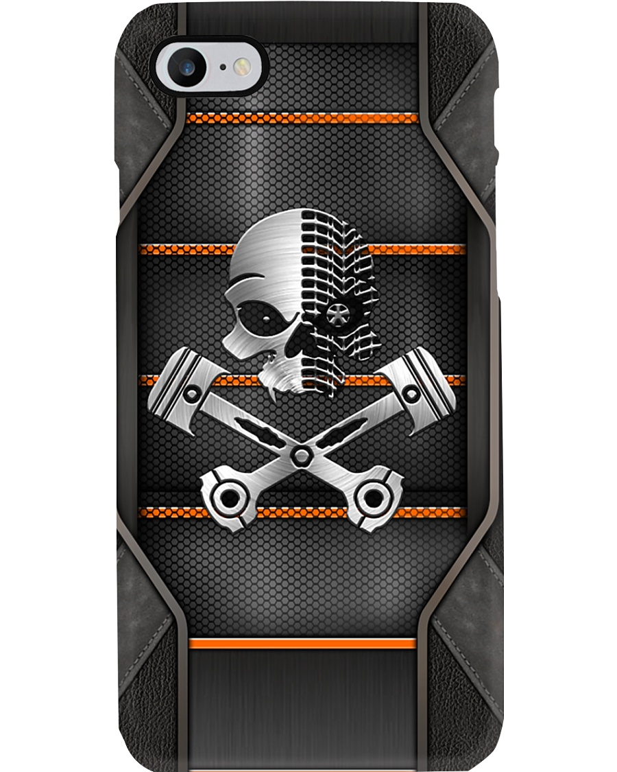 MECHANIC SKULL PHONECASE Phone Case