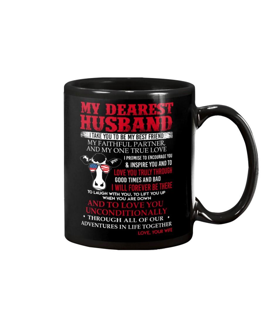Faithful Partner True Love Husband Cow Mug Mug