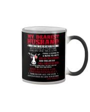 Faithful Partner True Love Husband Cow Mug Color Changing Mug thumbnail
