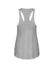 My heart touched by autism Ladies Flowy Tank back