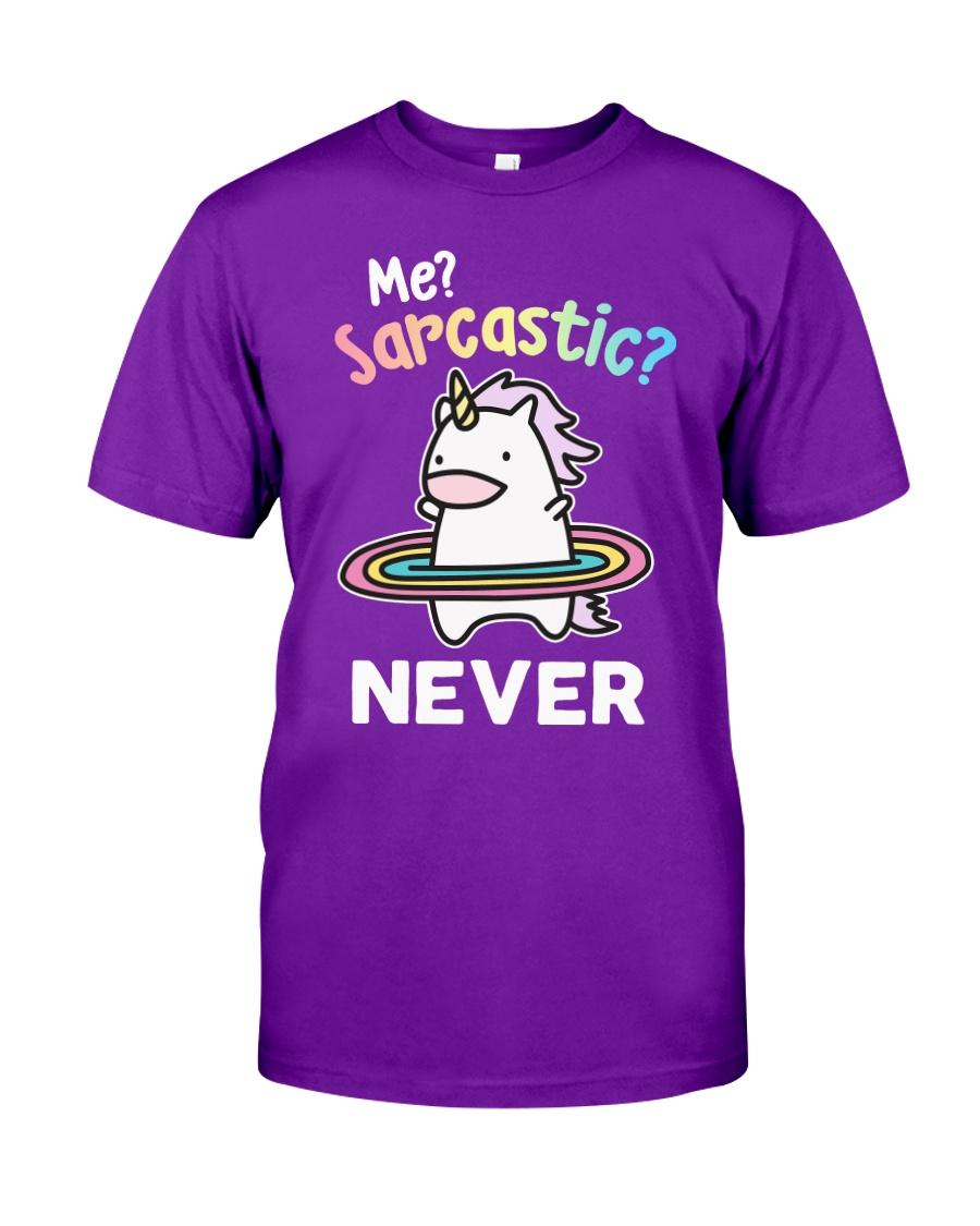 Unicorn Sarcastic Cute Gift Classic T-Shirt