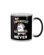 Unicorn Sarcastic Cute Gift Color Changing Mug thumbnail