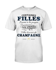 Filles Boivent Du Champagne Classic T-Shirt thumbnail