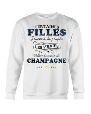 Filles Boivent Du Champagne Crewneck Sweatshirt thumbnail