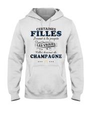 Filles Boivent Du Champagne Hooded Sweatshirt front