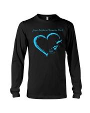 Nova Scotia Blue Heart PT  Long Sleeve Tee thumbnail