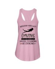 Scuba Diving Weekend Forecast 0012 Ladies Flowy Tank thumbnail