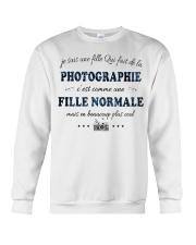 Fille Normale - Photographie Crewneck Sweatshirt thumbnail
