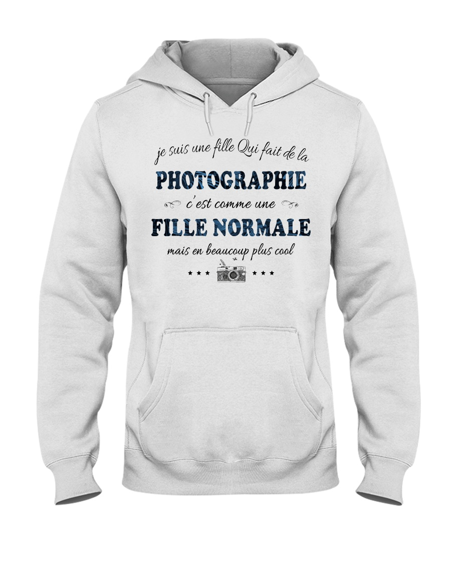 Fille Normale - Photographie Hooded Sweatshirt