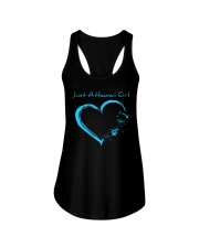 Hawaii Blue Heart PT Ladies Flowy Tank thumbnail