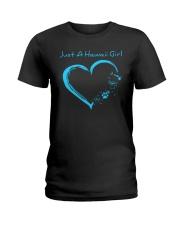 Hawaii Blue Heart PT Ladies T-Shirt thumbnail