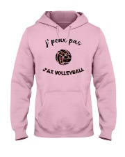 j'ai volleyball Hooded Sweatshirt front