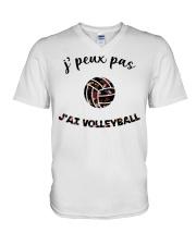 j'ai volleyball V-Neck T-Shirt thumbnail