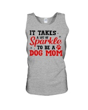 Dog - It takes a lot Unisex Tank thumbnail
