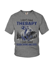 I Don't Need Therapy - Scuba diving Youth T-Shirt thumbnail