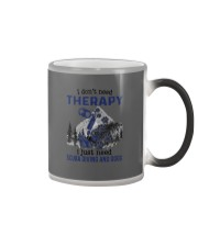I Don't Need Therapy - Scuba diving Color Changing Mug thumbnail