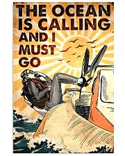 The Ocean Is Calling And I Must Go 0012 11x17 Poster front