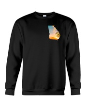 Georgia USA Flag Crewneck Sweatshirt thumbnail