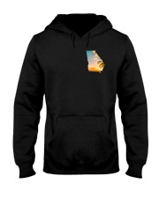 Georgia USA Flag Hooded Sweatshirt thumbnail