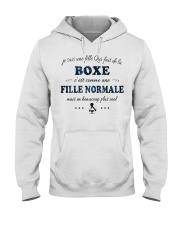 Fille Normale - Boxe Hooded Sweatshirt front
