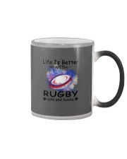 Life Is Better - Rugby Color Changing Mug tile