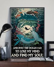 And Into the ocean I Go - Scuba Diving 11x17 Poster lifestyle-poster-2