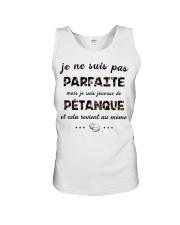 Pétanque - Je ne Suis Pas Parfaite Unisex Tank thumbnail