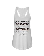 Pétanque - Je ne Suis Pas Parfaite Ladies Flowy Tank thumbnail