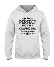 camping girl perfect Hooded Sweatshirt front