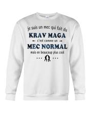 Un Mec Normal - Krav Maga Crewneck Sweatshirt thumbnail
