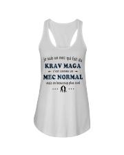 Un Mec Normal - Krav Maga Ladies Flowy Tank thumbnail