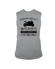 motorcycle-weekend forecast-drinking 0001 Sleeveless Tee thumbnail