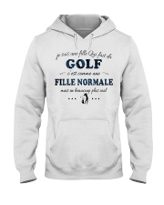 Fille Normale - Golf Hooded Sweatshirt front