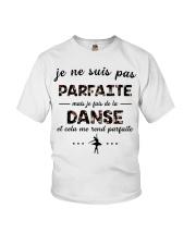 Ballet - Et Cela Me Rend Parfaite Youth T-Shirt thumbnail