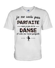 Ballet - Et Cela Me Rend Parfaite V-Neck T-Shirt thumbnail