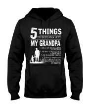 5 Things about my Grandpa Hooded Sweatshirt front