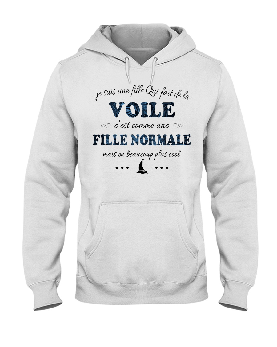 Fille Normale - Voile Hooded Sweatshirt