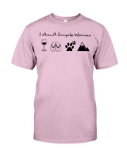 SIMPLE WOMAN MOUNTAIN Classic T-Shirt tile