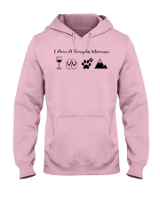 SIMPLE WOMAN MOUNTAIN Hooded Sweatshirt front