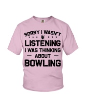 Bowling - Sorry I wasn't Youth T-Shirt tile